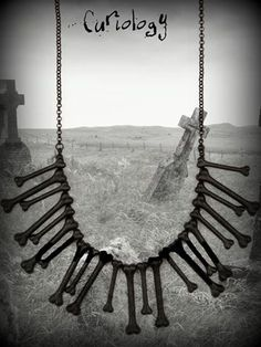 Witch Doctor Bone Necklace - Curiology, £20.00