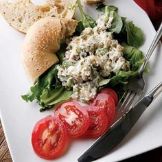 Smoked Trout Salad  | KitchenDaily.com