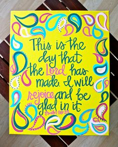 Custom Scripture or Quote Painting  16X20 Framed by graceelliott10, $40.00