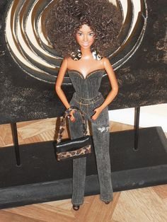 Barbie Doll Clothes  Sexy Distressed Stretch by NiteBabyDollWorld, $12.50