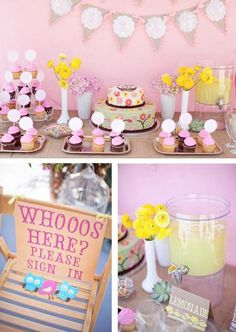 woodland baby shower ideas by marci via babyshowerideas4u whoo's here sign in desk