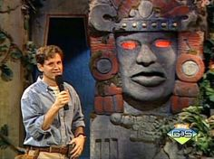 legends of the hidden temple--i always wanted to be on this show and be on the blue barracuda team lol
