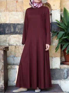 SHUKR USA | Flared Pleated Abaya