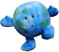 This website sells the most adorable stuffed planets.  I want them all.