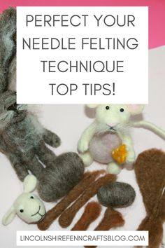 Everything you want to know about needle felting. This fabulously addictive hobby has taken the craft world by storm and shows no signs of slowing down. Find out what all the needle felting fuss is about and get started with  easy needle felting tutorials and top tips.  #needlefeltingforbeginners #needlefeltingkits #lincolnshirefenncrafts Needle Felting Kits, Needle Felting Tutorials, Needle Felted Animals, Wet Felting, Felt Animals, Easy Diy Crafts, Handmade Crafts, Felt Pictures, Textile Fiber Art