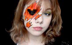 Kinkx: Comic inspired pumpkin halloween makeup tutorial