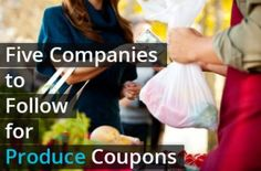 5 Facebook Pages to Follow for Produce Coupons