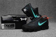 Mens Nike Air Max 2018 Black Nike Shoes Outfits, Nike Free Shoes, Nike Air Vapormax, New Nike Air, Air Max Sneakers, Sneakers Nike, Cheap Nike, Adidas Nmd, Discount Nikes