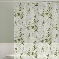 Maytex Zen Garden Vinyl Shower Curtain