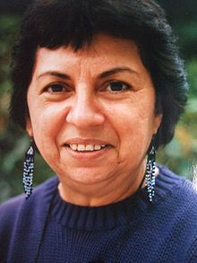 Gloria E. Anzaldúa - scholar of Chicano cultural theory, feminist theory and Queer theory.