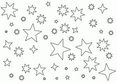 Collection of Moon With Stars Drawing ... | Henna tattoo in 2018 ...