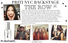 #pritinyc #backstagebeauty #nyfw #therow #ss14 #behindthescenes