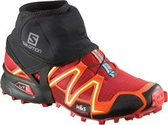 SALOMON TRAIL GAITERS LOW BLACK. #salomon #trail #trailrunning