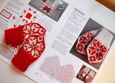 Children and Young Knitted Mittens Pattern, Knit Mittens, Mitten Gloves, Knitting Patterns, Knitting Charts, Baby Mittens, Baby Knitting, Diy And Crafts, Kids Fashion