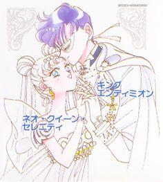 mine manga sailor moon usagi tsukino black moon neo queen serenity bishoujo senshi sailor moon mamoru chiba artbook King Endymion sailor moon R my manga edits otp: miracle romance