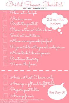 image result for bridal shower planning worksheet gabrielle s