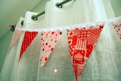 DIY Fabric Flag Banner