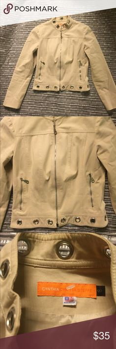 Cynthia steffe long sleeve jacket This jacket has never been worn it was always too small. Perfect condition, very cute jacket. Open to offers Cynthia Steffe Jackets & Coats