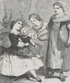 Les petites filles modèles / par Mme la Comtesse de Ségur,... ; ouvrage illustré de 20 vignettes par Bertall   Gallica