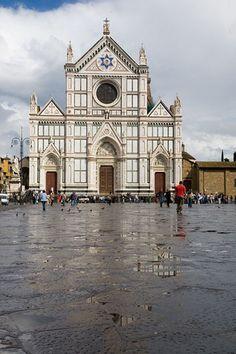 Basilica di Santa Croce - Florence, Italy