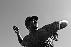 The latest Cub Hall of Famer, Ron Santo and his statue outside of Wrigley Field.