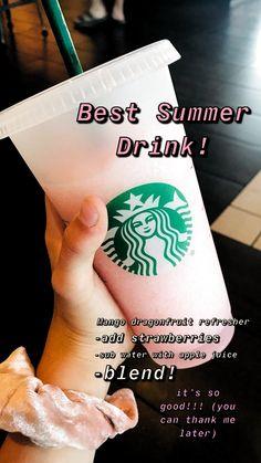 starbucks drinks to try ~ starbucks drinks _ starbucks drinks recipes _ starbucks drinks to try _ starbucks drinks frappuccino _ starbucks drinks refreshers _ starbucks drinks recipes diy _ starbucks drinks secret _ starbucks drinks coffee Starbucks Hacks, Starbucks Smoothie, Low Carb Starbucks Drinks, Starbucks Secret Menu Items, Starbucks Secret Menu Drinks, Starbucks Frappuccino, Smoothie Drinks, How To Order Starbucks, Starbucks Refreshers