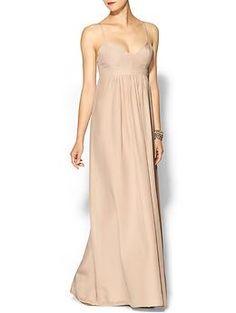 Amanda Uprichard Silk Gown   Piperlime