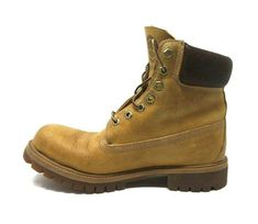 Men/'s Timberland Heritage Classic Premium Boot Wheat Burnished Leather 27092