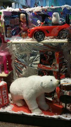 #vetrine #natale #iobimbosardegna #orso #allestimento #mamma #bimbo #giocattoli
