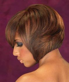 Mahogany haircuts for black women