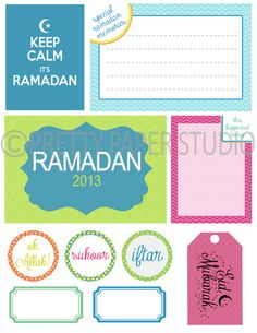 PPS: July Product Spotlight: Ramadan/Eid Mubarak digital printables