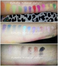 Bh cosmetics eyes on the 80's palette , Review , swatches and looks