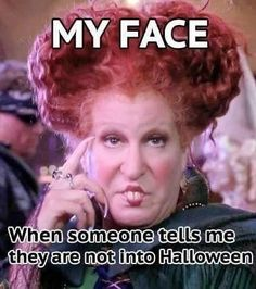 Thirty-Two Memes & Pics For Anyone Obsessed With Halloween