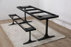 주물T형 테이블 다리 , 벤치다리 01092717876 문의 전화부탁드립니다.  table,bench, steel frame , woodslab, walnut wood slab ,