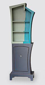 Tri-Color Stacked Cabinet: Vincent Leman: Wood Cabinet - Artful Home