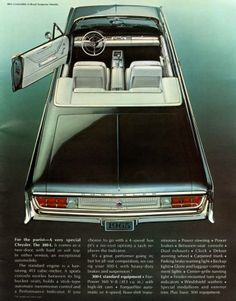1965 Chrysler 300 convertible ad