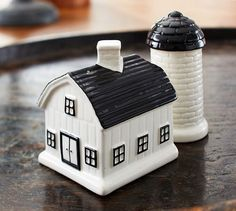 Farmhouse Salt & Pepper | Pottery Barn