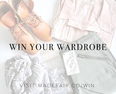 Enter to win a year's wardrobe worth $900 from @madefair_co