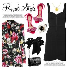 """Royal Style"" by teoecar ❤ liked on Polyvore featuring Dolce&Gabbana, Isabel Marant, Alexander McQueen and Christian Louboutin"
