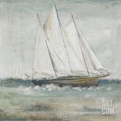 Cape Cod Sailboat II Art Print by Patricia Pinto at Art.com