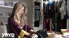 """Fancy (2014) by Iggy Azalea featuring Charli XCX. Iggy's yellow outfit is based on the one that Cherilyn """"Cher"""" Horowitz (played by Alicia Silverstone) wore in the movie Clueless (1995). """"First things first, I'm the realest (realest) / Drop this and let the whole world feel it (let them feel it) / And I'm still in the Murda Bizness / I could hold you down, like I'm givin' lessons in physics (right, right) / You should want a bad bitch like this (huh?)"""""""