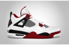 "Nike Air Jordan IV ""Fire Red"""