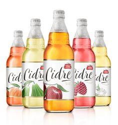 Consultancy JKR has redesigned the packaging and logo of Stella Artois' sub-brand Cidre, placing fruit imagery at the centre of its labelling.