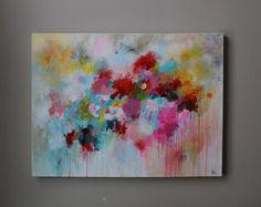 Pintura acrílica pintura original arte original por artbyoak1