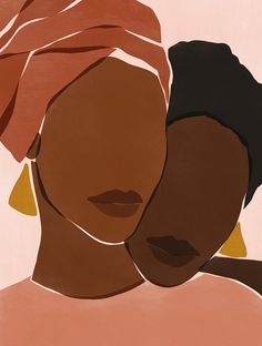 In a world that has very few spaces for us, podcasts that lift up and celebrate Black women listeners are a welcome breath of fresh air. Black Girl Art, Black Women Art, Art Girl, Art And Illustration, Illustrations, Kunst Inspo, Art Inspo, Painting Inspiration, Black Art Painting