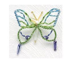 Beaded Butterfly - bjl