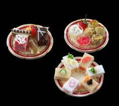 The English Kitchen Miniature Dollhouse Foods and Desserts Premier Collection