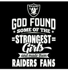 Strong girls are Raider fans Raiders Shirt, Raiders Stuff, Raiders Baby, Oak Raiders, Football Baby, Football Memes, Sport Football, Football Season, Football Food