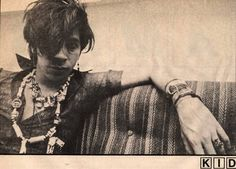 Electric voodoo and ominous noises. Kid Congo Powers - one of the best guitarists you've never heard of.