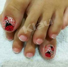 Toe Nail Art, Toe Nails, Acrylic Nails, Pedicure Designs, Toe Nail Designs, Disney Nails, Pedicure Nails, Polished Look, Trendy Nails